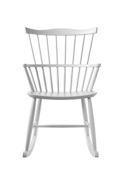 FDB Møbler / Furniture - Cushion - J52G by Børge Mogensen - White