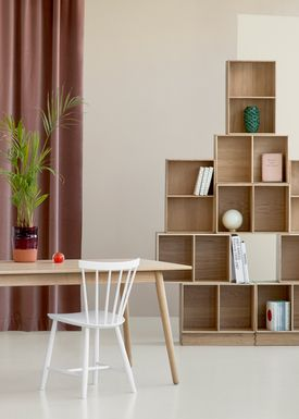 FDB Møbler / Furniture - Boxes - B98 by Mogens Koch - Small - Oak