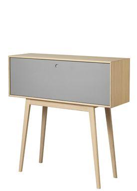 FDB Møbler / Furniture - Display - F22 by Foersom & Hiort-Lorenzen - Nature/Grey