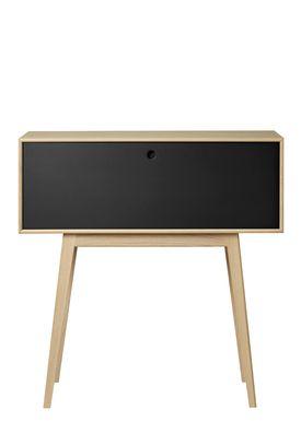 FDB Møbler / Furniture - Display - F22 by Foersom & Hiort-Lorenzen - Nature/Black