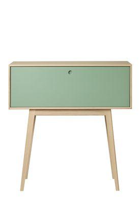 FDB Møbler / Furniture - Display - F22 by Foersom & Hiort-Lorenzen - Nature/Green