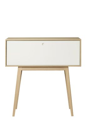 FDB Møbler / Furniture - Display - F22 by Foersom & Hiort-Lorenzen - Nature/White