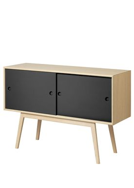 FDB Møbler / Furniture - Sideboard - A83 by Foersom & Hiort-Lorenzen - Nature/Black