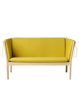 FDB Møbler / Furniture - Couch - J148 2 pers by Erik Ole Jørgensen - Oak/Ocher Yellow