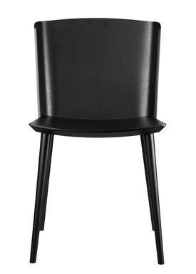 FDB Møbler / Furniture - Stol - J155 Yak af Tom Stepp - Bøg / Sort / Uden armlæn