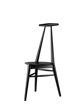 FDB Møbler / Furniture - Stol - J157 Anker by Stine Weigelt - Oak / Black