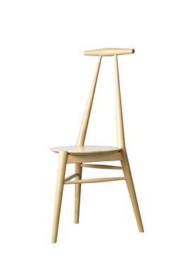 FDB Møbler / Furniture - Stol - J157 Anker by Stine Weigelt - Oak / Matt lacquered