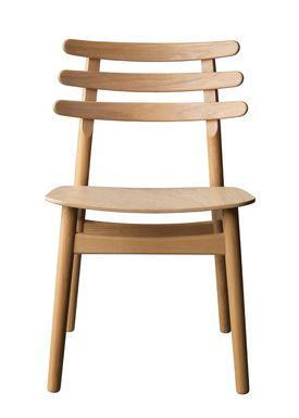 FDB Møbler / Furniture - Stol - J48 af Poul M. Volther - Eg / Egefiner