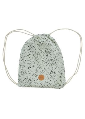 Ferm Living - Bag - Gym Bag - Mint Dot