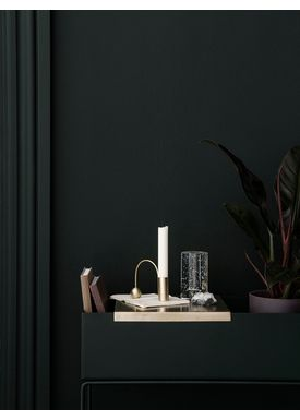 Ferm Living - Bakke - Brass Tray For Plant Box - Brass