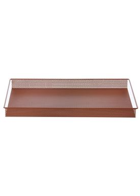 Ferm Living - Tray - Metal Tray - Ocher