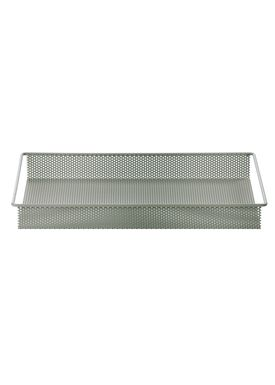 Ferm Living - Tray - Metal Tray - Dusty Green