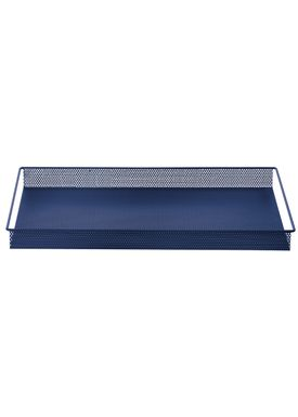 Ferm Living - Tray - Metal Tray - Blue