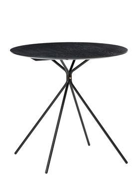 Ferm Living - Bord - Herman Side & Café Table - Cafe - Sort