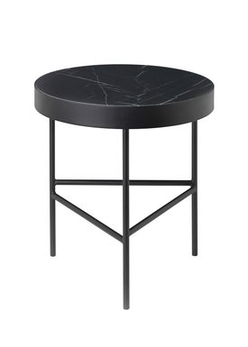 Ferm Living - Bord - Marble Table - Medium - Black