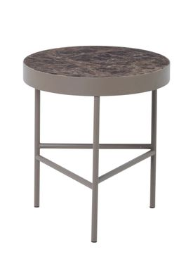 Ferm Living - Bord - Marble Table - Medium - Brown
