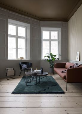 Ferm Living - Bord - Marble Table - Large - Brown