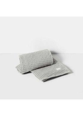 Ferm Living - Håndklæde - Organic Bath Towel - Lysegrå