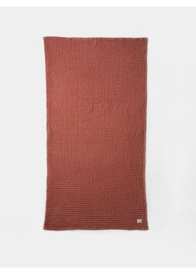 Ferm Living - Håndklæde - Organic Bath Towel - Rust
