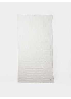 Ferm Living - Håndklæde - Organic Bath Towel - Hvid