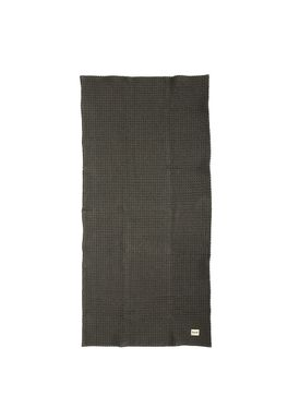 Ferm Living - Towel - Organic Bath Towel - Dark grey