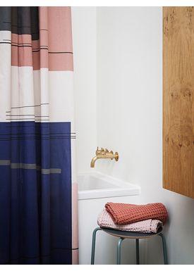 Ferm Living - Håndklæde - Organic Hand Towel - Rosa