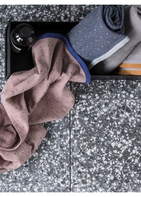 Ferm Living - Håndklæde - Sento Hand Towel - Blue