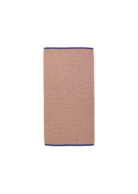 Ferm Living - Håndklæde - Sento Hand Towel - Rose