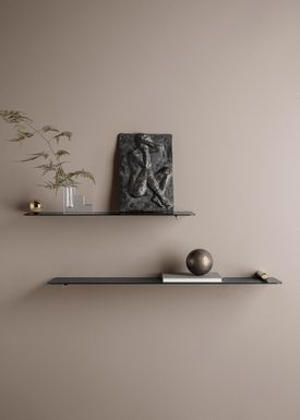 Ferm Living - Shelf - Flying Shelf - Cylinder Brass