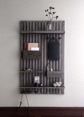 Ferm Living - Hylde - Wooden Multi Shelf - Stained Black