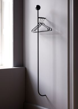 Ferm Living - Knager - Pujo Coat Rack - Sort