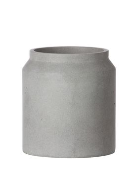 Ferm Living - Krukke - Outdoor Pot - Lysegrå - Small