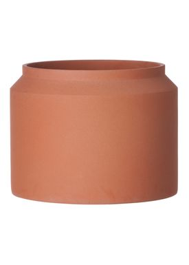 Ferm Living - Jar - Outdoor Pot - Ocher - Large