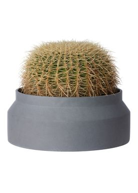 Ferm Living - Krukke - Outdoor Pot - Mørkegrå - Large