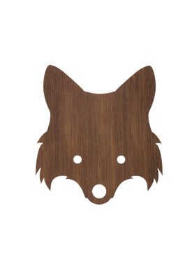 Ferm Living - Lamp - Ferm Childrens Lamp Smoked Oak - Fox: Smoked Oak