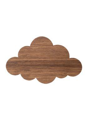 Ferm Living - Lampe - Ferm Børnelampe Røget Eg - Cloud: Røget Eg