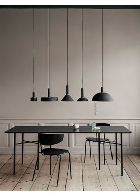 Ferm Living - Lampa - Shades - Disc - Black