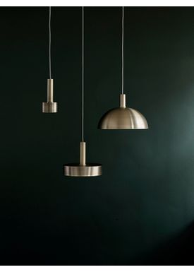 Ferm Living - Lampa - Shades - Record - Brass