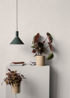 Ferm Living - Lampa - Shades - Cone - Dark Green