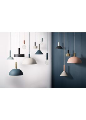 Ferm Living - Lampa - Shades - Record - Dark Green