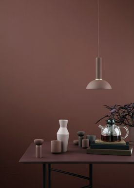 Ferm Living - Lampa - Shades - Hoop - Red Brown
