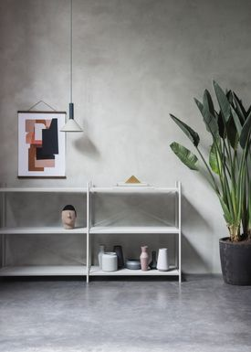 Ferm Living - Lampe - Shades - Cone - Lysegrå