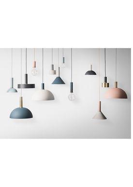 Ferm Living - Lampe - Shades - Cone - Mørkeblå