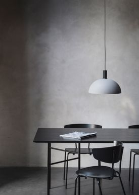 Ferm Living - Lampe - Shades - Dome - Lys Grå