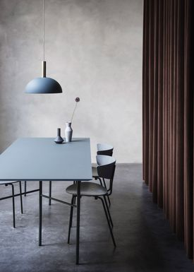 Ferm Living - Lamp - Shades - Dome - Dusty Blue