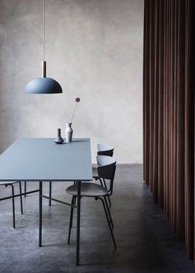 Ferm Living - Lampe - Shades - Dome - Støvet Blå