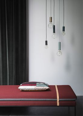 Ferm Living - Lampe - Shades - Disc - Lysegrå