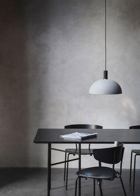 Ferm Living - Lamp - Shades - Hoop - Dusty Blue