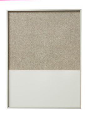 Ferm Living - Notesbog - Frame Pinboard - Grå