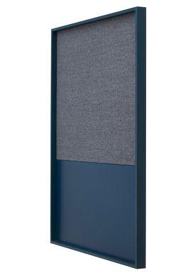 Ferm Living - Notesbog - Frame Pinboard - Blå